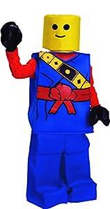 Dress up America Disfraz de Block Ninja Lego Halloween, para niños, color azul