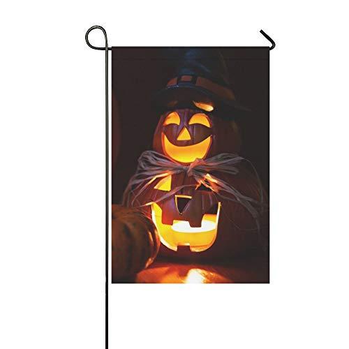 Asendan bandiera a tema halloween design giardino-zucche di halloween-ideale per decorazioni per feste da giardino 30 x 45 cm