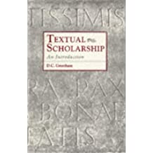 Textual Scholarship: An Introduction (Garland Reference Library of the Humanities)