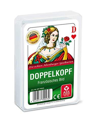 Kartenspiele, Doppelkopf mit französischem Bild der ASS Altenburger Spielkartenfabrik