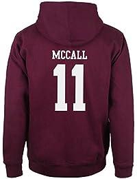 Beacon Hills Stilinski Lahey Lacrosse Mccall Sudadera de lacrosse con capucha