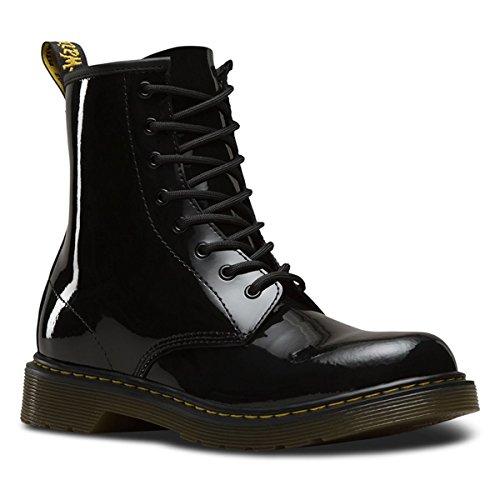 Dr. Martens Unisex-Kinder 1460 Y Klassische Stiefel, Schwarz (Black 001), 38 EU (Dr. Pink Martens Und Schwarz)
