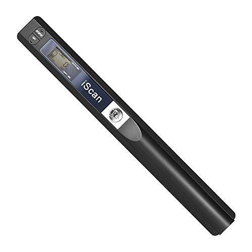 Aibecy A4 Scanner Tragbar Kabellos Handscanner Dokumentenscanner Buchscanner Fotoscanner 900DPI JPG/PDF Formate LCD Display mit Schutzhülle