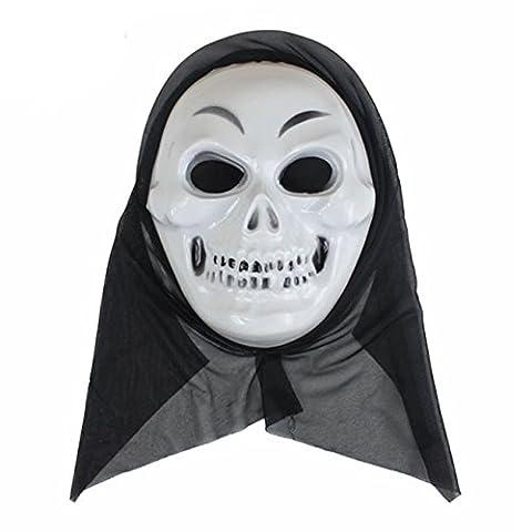 Masques Drôles De Halloween Adultes - HCFKJ Halloween DrôLe Diversité Masque à Billes