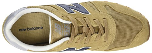 New Balance Herren ML373 Sneaker, Elfenbein (Tan/ML373OTO)