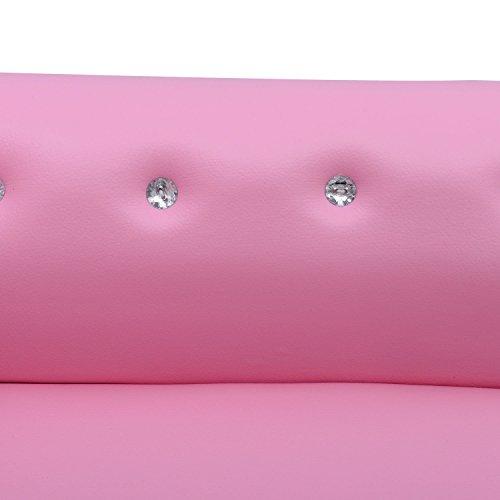 homcom 55-0017 Kinder/-sessel/-stuhl  Soft-/Kinder-/Doppel-/Einzelsofa  Neu (Chaiselongue) - 5