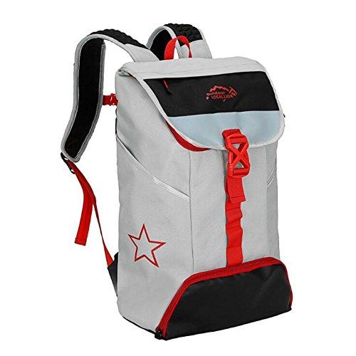 Wmshpeds Alpinismo Outdoor borsa zaino sportivo zainetto scuola media di borsa degli studenti B