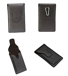 Brain Freezer A16 F G12 Series Leather Pouch Holster Case For Nokia 800C Dark Brown