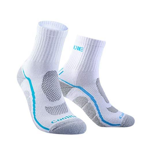 Floridivy Unisex Coolmax Sport Laufsocken Männer Frauen Breathable Outdoor Radfahren Wandern Camping Basketball Socken -