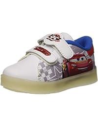 Disney Kids Sneaker In Tela Luci Cars 3 Rosso