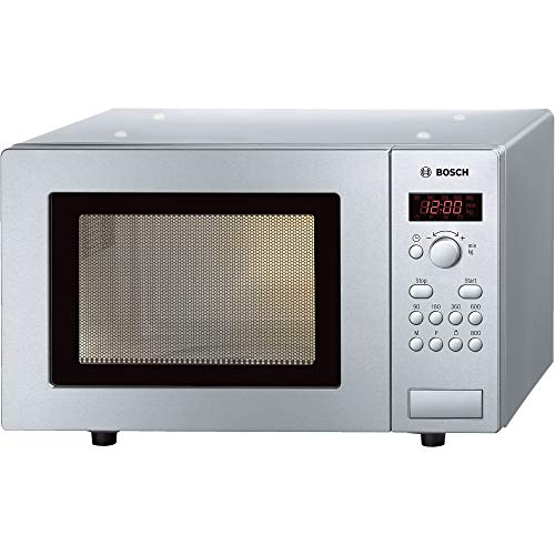 Bosch HMT75M451B Series 2 brushed Steel Microwave 800W - 17L