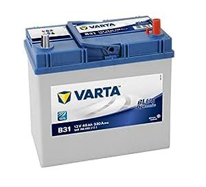 Varta Blue Dynamic B31 Batterie Voitures, 12 V 45Ah 330 Amps (En)