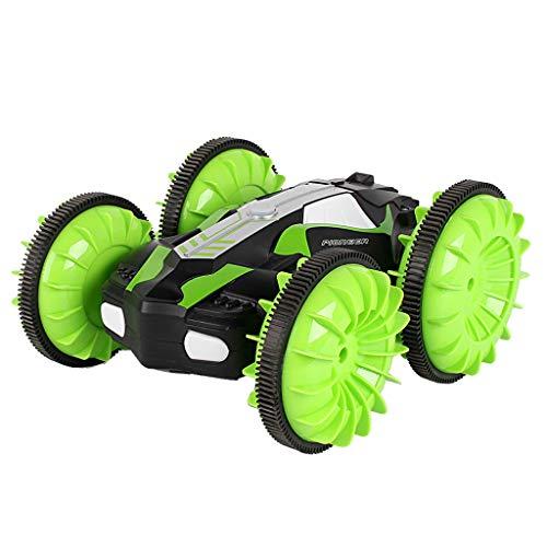 BHYDRY LH-C013 2.4GHz 4WD wasserdichtes doppelseitiges amphibisches RC-Stunt-Auto mit 360 ° -Drehung