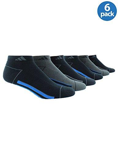 adidas-uomo-climalite-calze-low-cut-sport-ammortizzata-nero-confezione-da-6-taglia-6-12