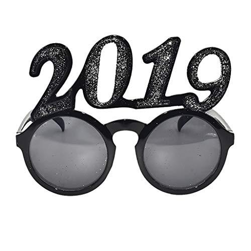 longzjhd Party Sonnenbrille 2019 Lustig Verrückt Schick Kleid Brille Neuheit Kostüm Party Lustig verrückt Kostüm Neuheit Sonnenbrillen-Zubehör Irisches Festival Karneval Sonnenbrille