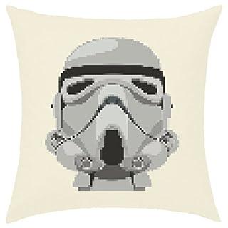 Kissenhülle, 40x 40cm bedruckt, 100% Baumwolle–Stormtrooper Drabs Star Wars