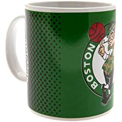 Boston Celtics Green NBA Fade Boxed Mug Official Licensed