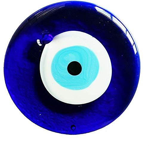 LXZH Anhänger Anhänger, Große Runde Blaue Augen Anhänger Anhänger Der Türkei, Freund Frau,Blau,12CM