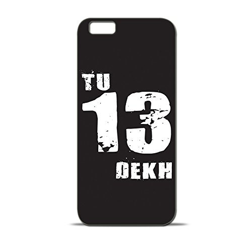 ezyPRNT Apple iPhone 6s Mobile Back Case Cover with Funny Funky Tu 13 Dekh (Black) Design  available at amazon for Rs.295