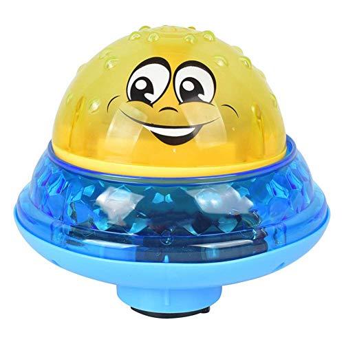 lymty Sprinkler Ball Spielzeug, elektrische Spray Wasser Baby Bad Spielzeug Sommer Pool Spielzeug, schwimmende Bad Spielzeug mit Licht für Kleinkinder Jungen Mädchen (Licht-bad-spielzeug-für Jungen)