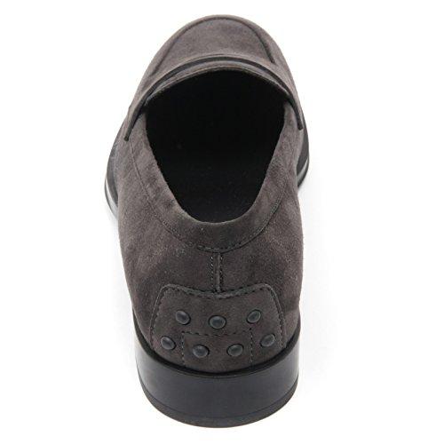 Tod's C3106 mocassino donna scarpa grigio scuro loafer shoe woman Grigio scuro