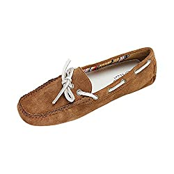 La Briza Women 2558 Tobacco Synthetic Loafers 8 UK