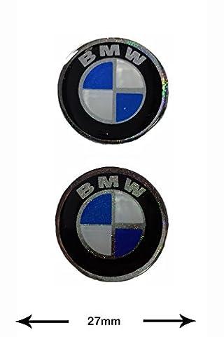 Autocollant Sticker - BMW - 3D Sticker - 2 Pieces - black - black - Decal - Car - Motorbike - Motocross - Bike - BMX - MTB - Scooter- Racing - Patch