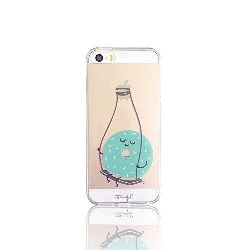 f45fc8d1119 Mr Wonderful MRCAR073 – Carcasa para Apple iPhone 5 SE deseno Donut
