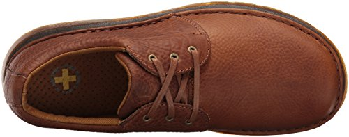 Dr.Martens Mens Hazeldon Kingdom Leather Shoes Tan