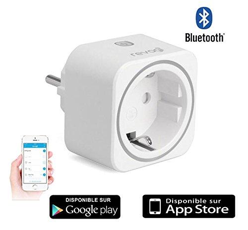 Igenizzante-Presa intelligente collegamento Bluetooth Interruttore senza fili-Contatore-Programmatore-Controllo a distanza per Smartphone Android o IOS