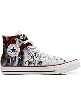 Converse All Star zapatos personalizadas Unisex (Producto Artesano) The Wall
