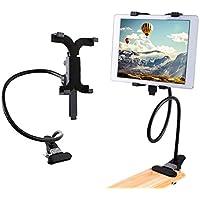 410108 Soporte universal de metal flexible para tablet con pinza