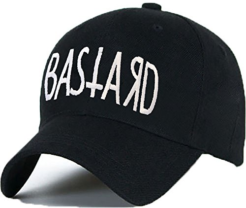 Bonnet Casquette Snapback Baseball 1994 Hip-Hop en Noir / Blanc avec les ASAP Bad Hair Day