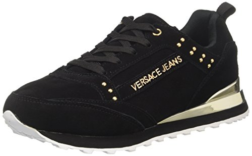 Versace Jeans Damen EE0VRBSD2_E70019 Sneaker, Schwarz, 38 EU