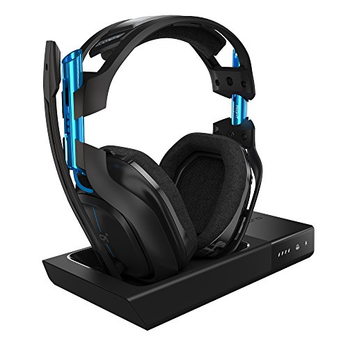 ASTRO Gaming A50 Cuffia con Microfono Wireless, Base di Ricarica, con Audio Dolby Surround 7.1,...