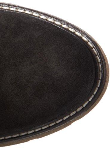 Bugatti V78383, Bottes Hautes Femme Noir (Schwarz 100)