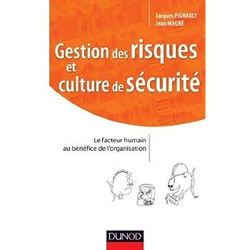Gestion des risques et culture de sécurité: Maitriser les facteurs humains et organisationnels