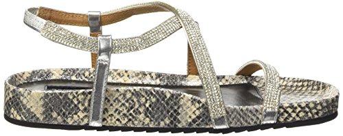 Belmondo, Scarpe stringate uomo Argento (Silber (argento combi))