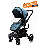 R for Rabbit Hokey Pokey Plus Baby Stroller and Pram - Ultimate Pram for Baby/Kids (Blue)