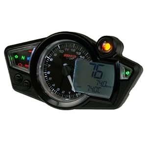 Compteur moto digital KOSO DIGITAL RX1N GP STYLE multifonctions - REPLAY