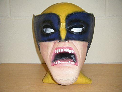 Wolverine Deluxe Halloween Monster Zombie Voller Kopf Maskenkostüm (Deluxe Wolverine Kostüme)
