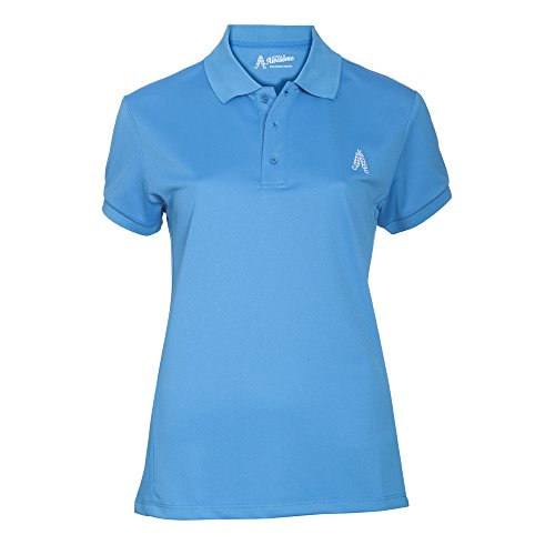 Royal & Awesome Damen Poloshirt Womens Polo, Blue, Small, -