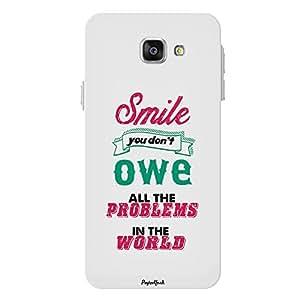 PosterHook Smile - Motivational Designer Case for Samsung A7(2016)