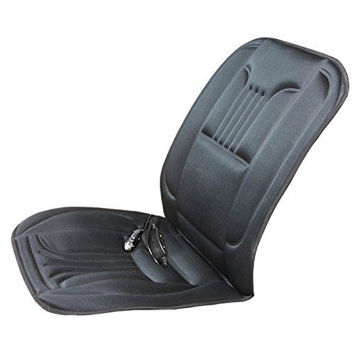 Torrex® 30204 Sitzheizung Heizkissen Comfort-Plus beheizbares Kissen mit zwei Heizstufen, Lendenwirbelstütze und Ein-Aus-Schalter