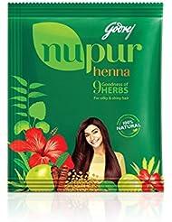 Godrej Nupur Mehndi naturel avec Bonté de 9 Herbes - 500 g