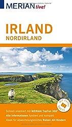 MERIAN live! Reiseführer Irland Nordirland: Mit Extra-Karte zum Herausnehmen