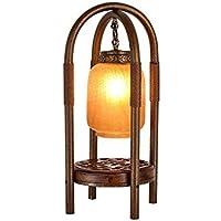 ZYCkeji Zart Eisen Tischlampe, Vintage Lampe Wohnzimmer Studie Schlafzimmer Nachttischlampe Chinesische Lampe... preisvergleich bei billige-tabletten.eu