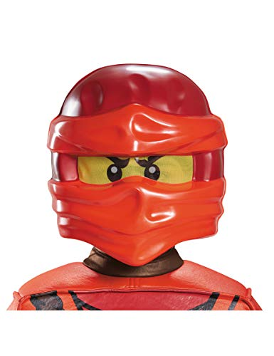 LEGO Ninjago 98139 Kai Maske, rot, One (Lego Ninjago Roter Ninja Kostüm)
