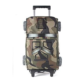 41FBWkFHi2L. SS324  - beibao shop Trolley Bags Modelo 3D Desmontable Bolsos de la Carretilla, Poliéster Transpirable Carga Estudiante El Hombro Mochila Escolar