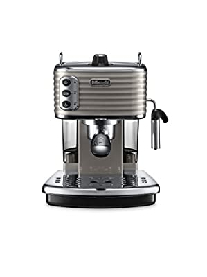 De'Longhi ECZ351.BK Scultura Traditional Pump Espresso Coffee Machine, 1100 W